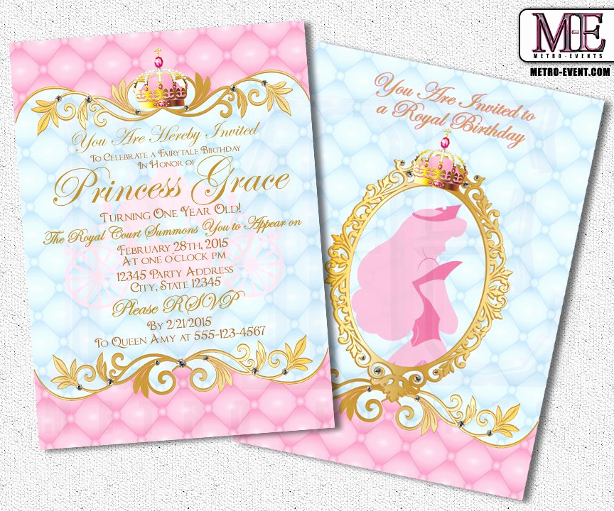 Princess Party Invitation Ideas Best Of Princess Invitations Beautiful Invitations for A Special