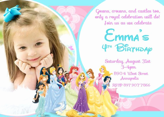 Princess Party Invitation Ideas Inspirational 25 Best Ideas About Princess Birthday Invitations On