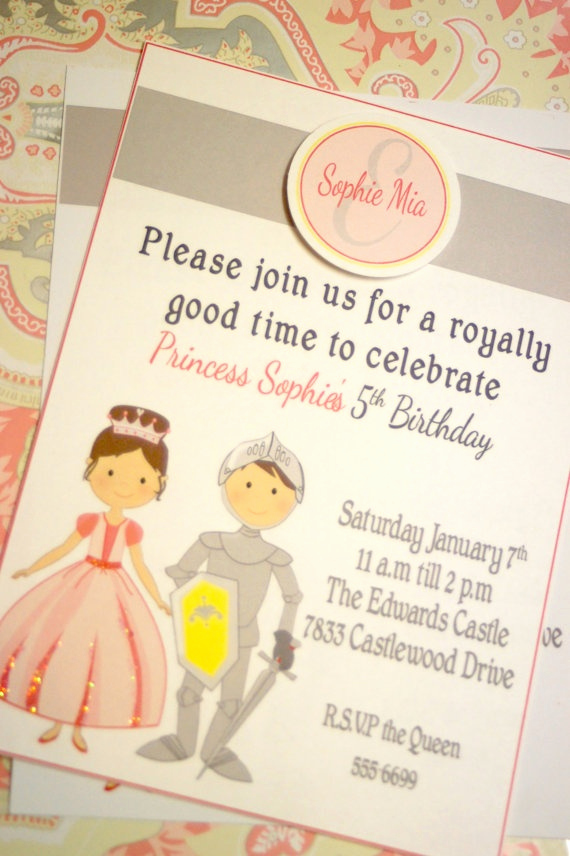 Princess Party Invitation Ideas Inspirational Best 25 Royal Birthday Parties Ideas On Pinterest