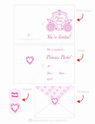 Princess Party Invitation Ideas Unique Princess Party