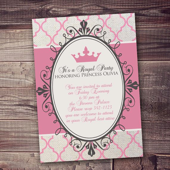 Princess Party Invitation Wording Awesome 53 Best Princess Birthday Images On Pinterest