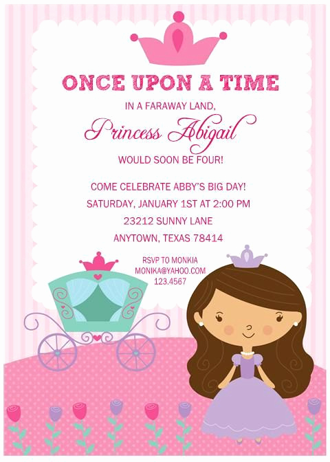 Princess Party Invitation Wording Elegant 25 Best Ideas About Princess Diana Birthday On Pinterest