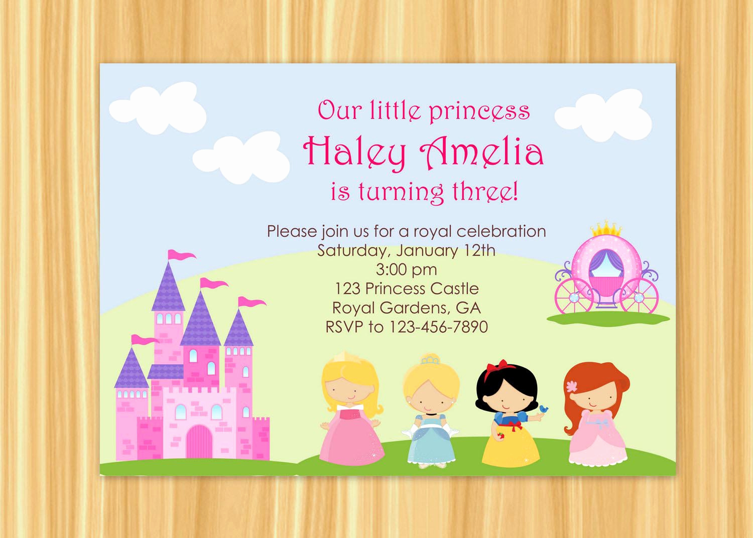 Princess Party Invitation Wording New Royal Birthday Party Invitation Wording