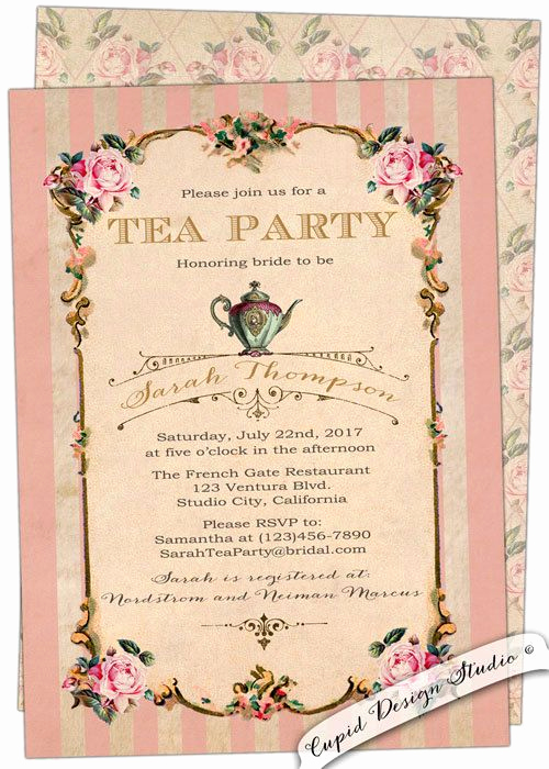 Princess Tea Party Invitation Wow Best Of 17 Best Ideas About High Tea Parties On Pinterest