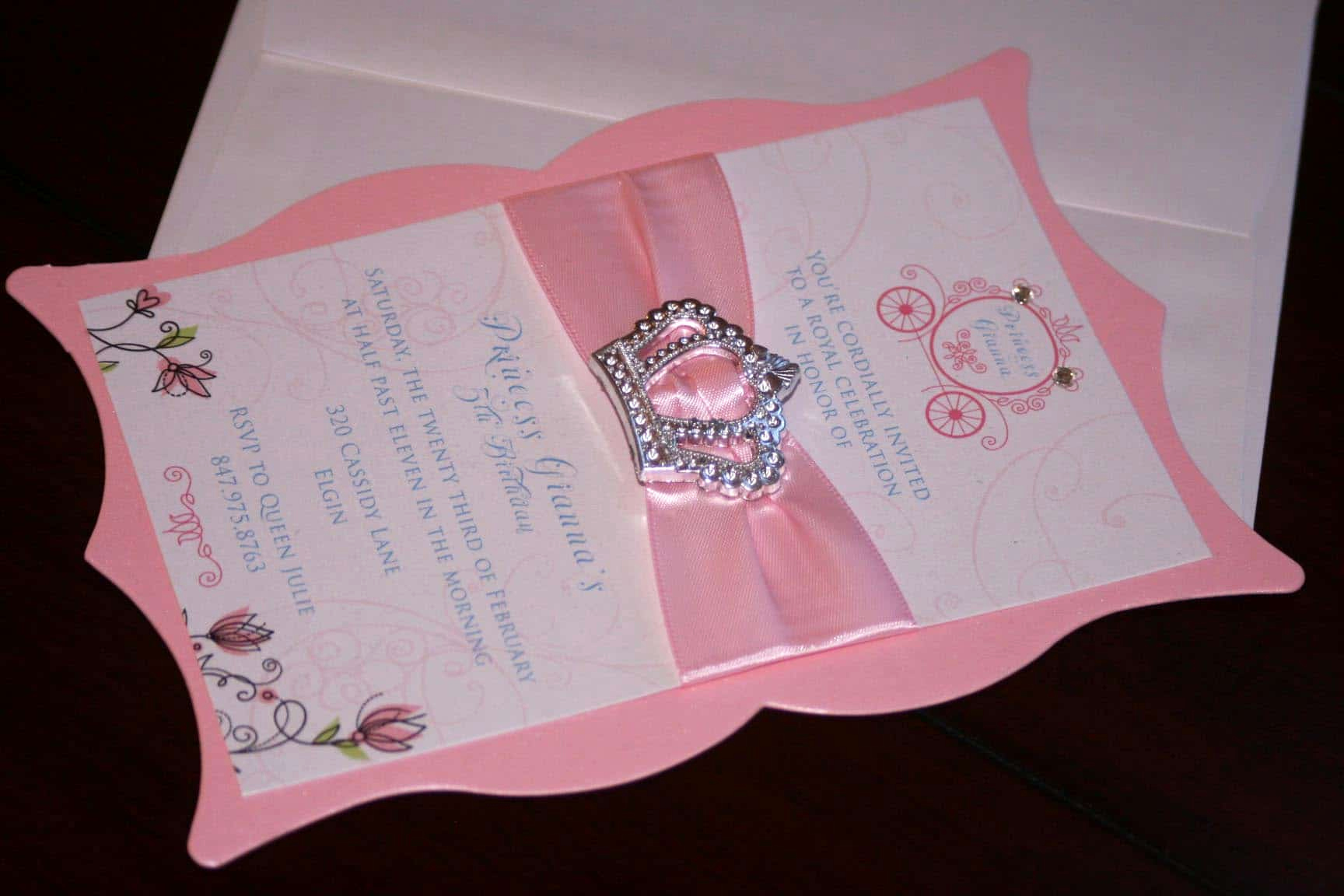 Princess Tea Party Invitation Wow Lovely Princess Birthday Invitations too Chic & Little Shab