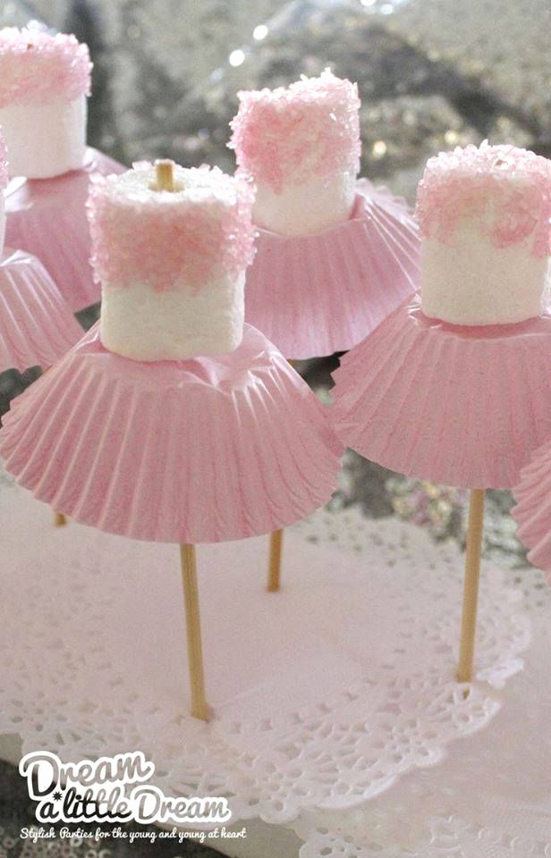 Princess Tea Party Invitation Wow New Ballerina Marshmallows Perfect for Parties Video Tutorial