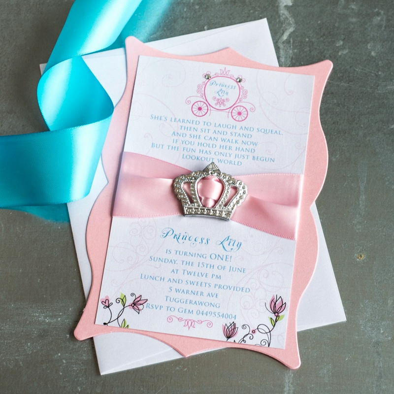 Princess Tea Party Invitation Wow New Princess Birthday Invitations too Chic & Little Shab