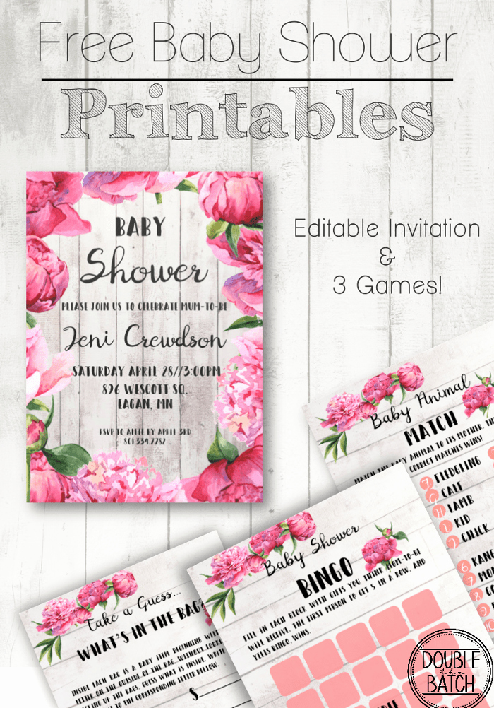 Printable Baby Shower Invitation Templates Awesome Free Baby Shower Printables Uplifting Mayhem