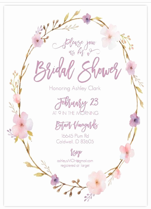 Printable Bridal Shower Invitation Templates Awesome 13 Bridal Shower Templates that You Won T Believe are Free