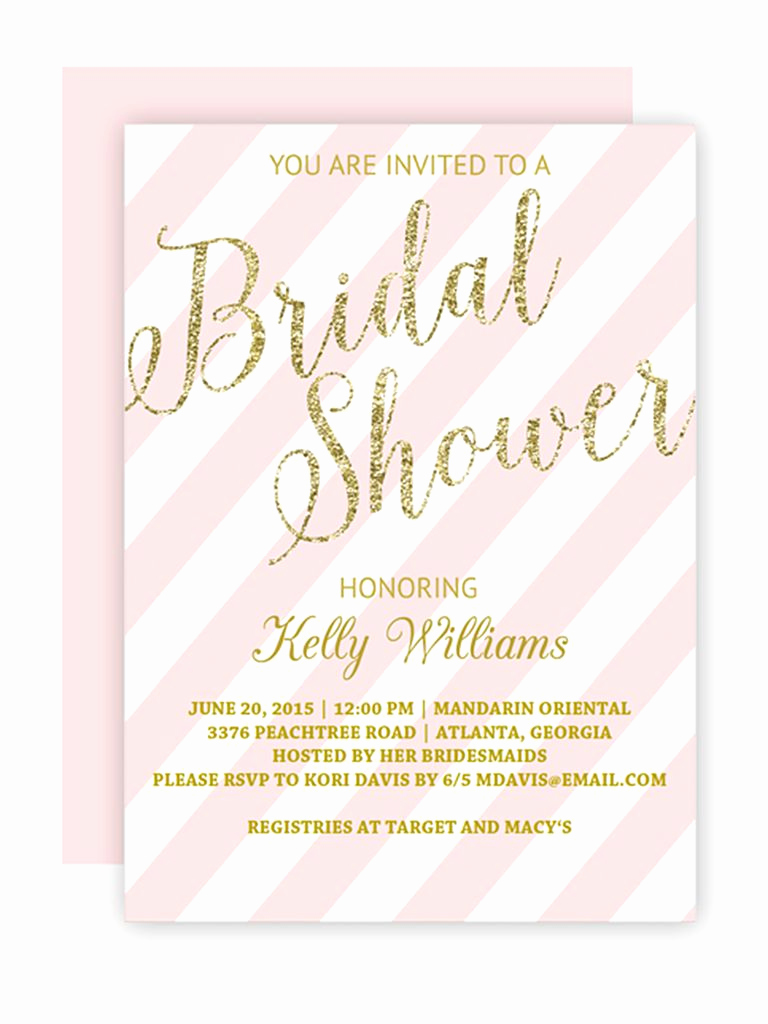 Printable Bridal Shower Invitation Templates Awesome Printable Bridal Shower Invitations You Can Diy