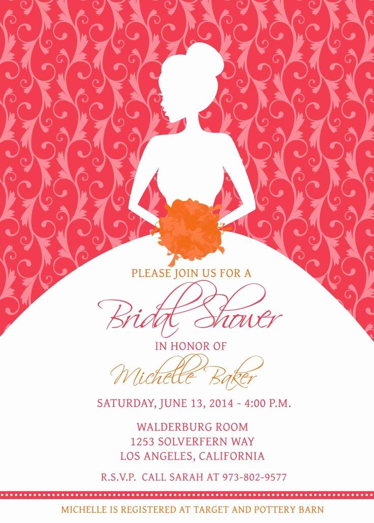 Printable Bridal Shower Invitation Templates Beautiful Best 25 Bridal Shower Invitation Wording Ideas On