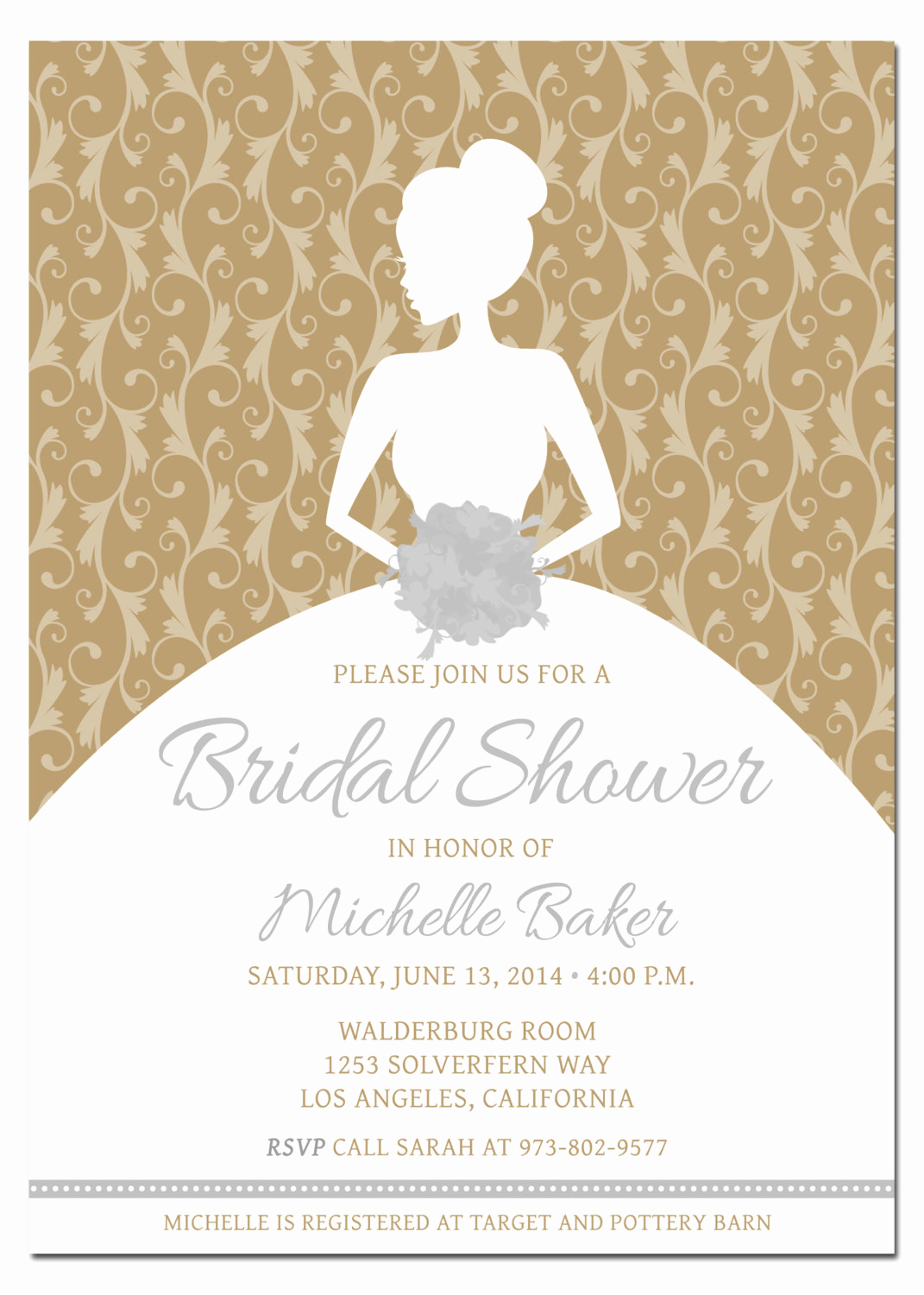 Printable Bridal Shower Invitation Templates Lovely Printable Diy Bridal Shower Invitation Template with