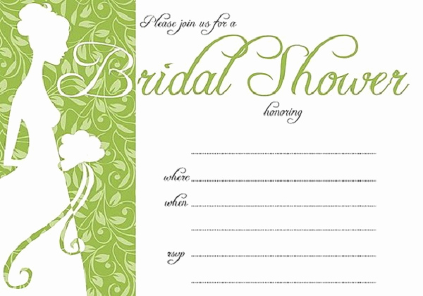 Printable Bridal Shower Invitation Templates Unique Bridal Shower Invitations Easyday
