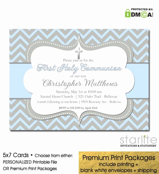 Printable First Communion Invitation Best Of 1000 Ideas About Munion Invitations On Pinterest