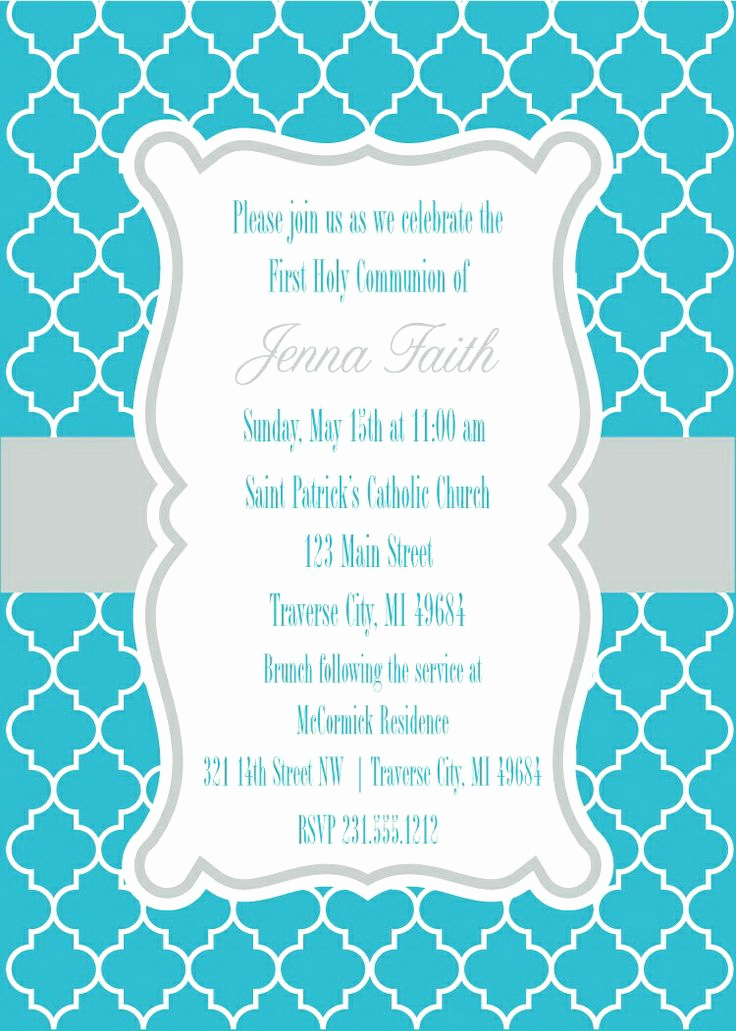 Printable First Communion Invitation Fresh 17 Best Images About First Munion Invitations On