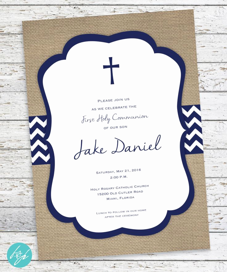 Printable First Communion Invitation Unique Best 25 Munion Invitations Ideas On Pinterest