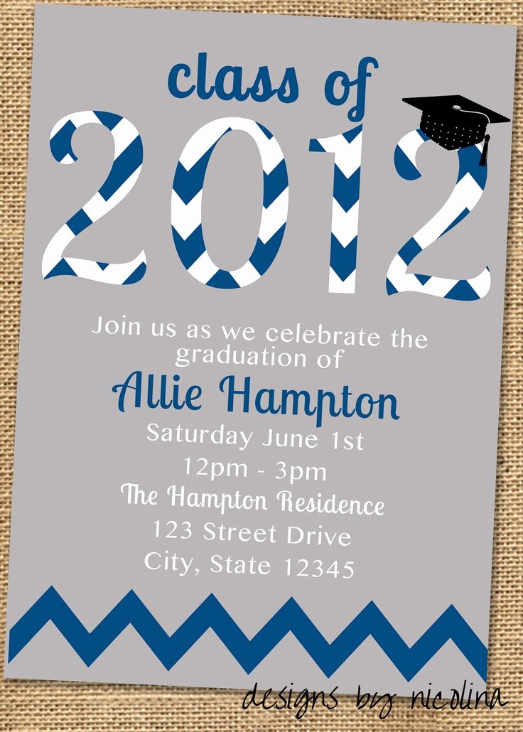 Printable Graduation Party Invitation Awesome 150 Best Graduationnnn 2014 D Images On Pinterest