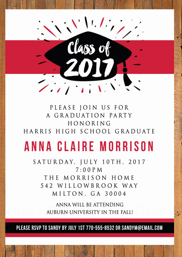 Printable Graduation Party Invitation Awesome 62 Printable Dinner Invitation Templates Psd Ai Word