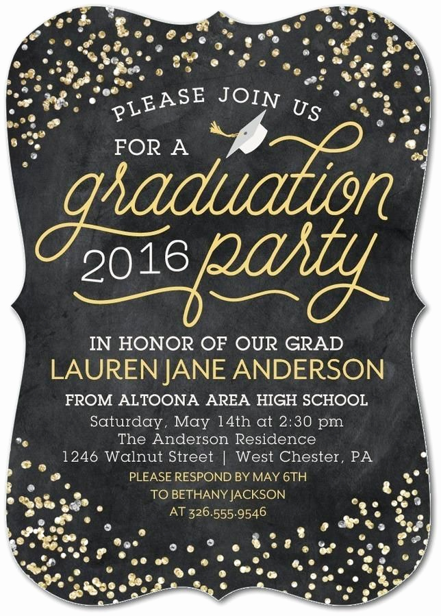 Printable Graduation Party Invitation Beautiful 25 Best Ideas About Graduation Invitations On Pinterest