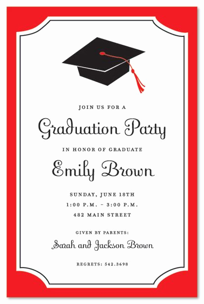 Printable Graduation Party Invitation Beautiful Graduation Invitations
