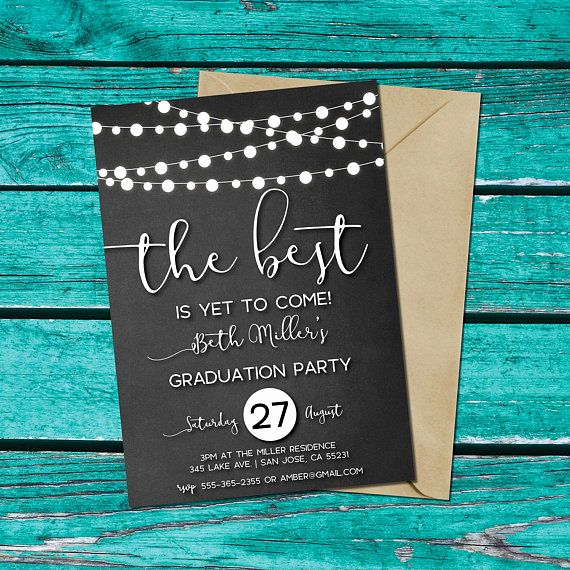 Printable Graduation Party Invitation Best Of Best 25 Graduation Invitations Ideas Only On Pinterest
