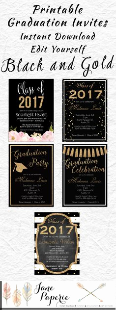 Printable Graduation Party Invitation Unique Save Money with these Free Printable Graduation