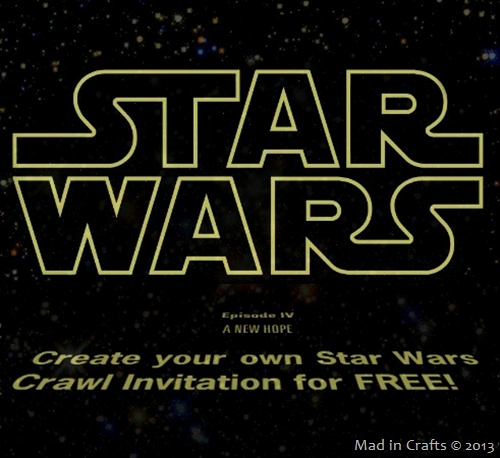 Printable Star Wars Invitation Elegant Free Printable Star Wars Birthday Invitations – Template
