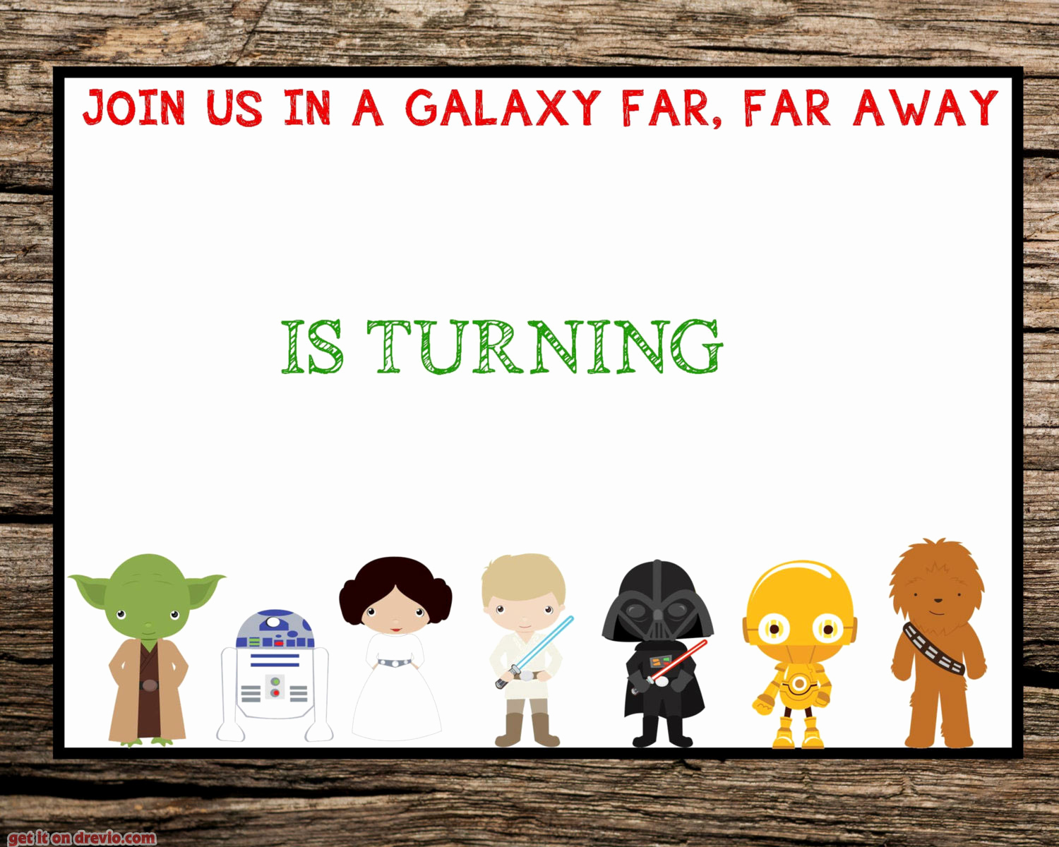 Printable Star Wars Invitation Template Beautiful Free Printable Star Wars Birthday Invitation – Free