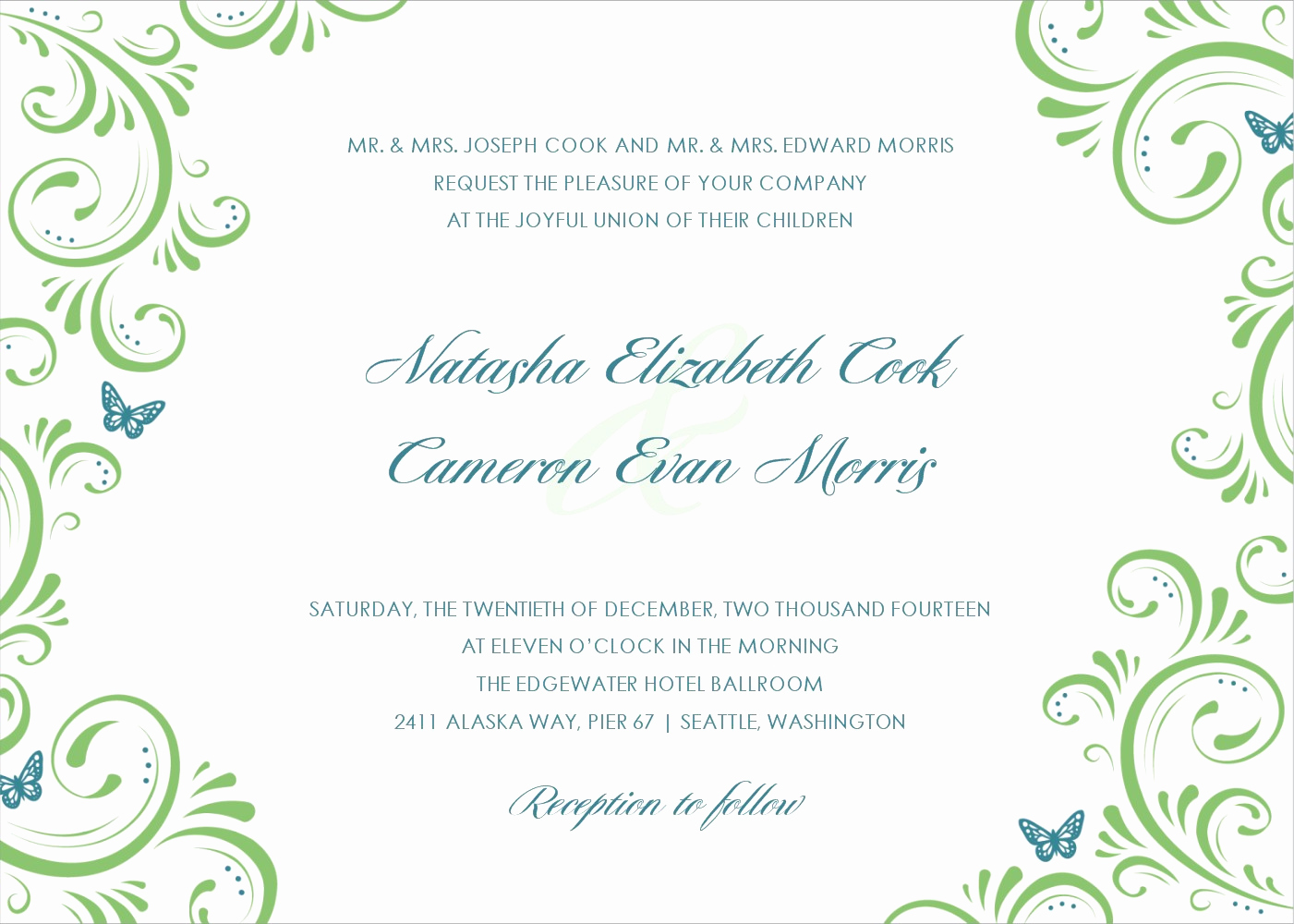 Printable Wedding Invitation Templates Fresh Applying the Wedding Planning Templates