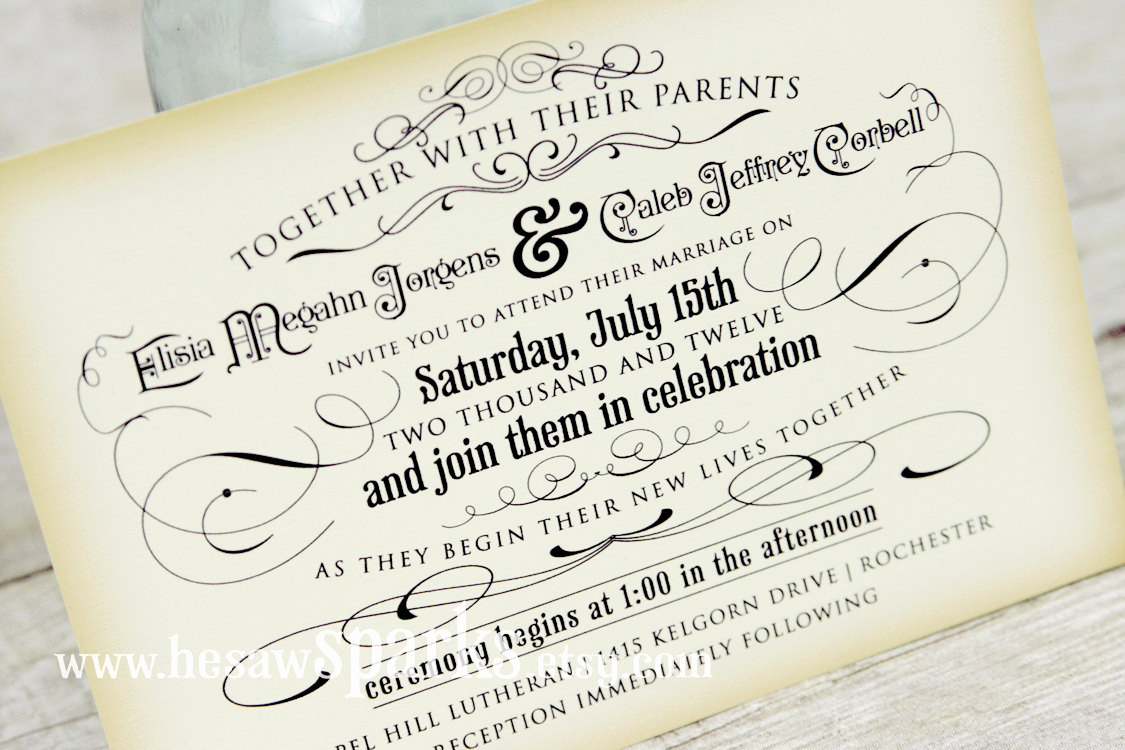 Printable Wedding Invitation Templates Fresh Vintage Wedding Invitation Printable Diy the Timeless
