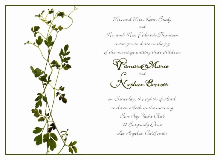 Private Wedding Ceremony Invitation Best Of 1000 Ideas About Wedding Invitation Wording Examples On