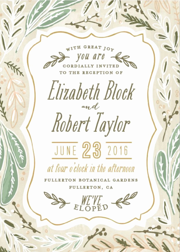 Private Wedding Ceremony Invitation Best Of 17 Best Ideas About Elopement Announcement On Pinterest