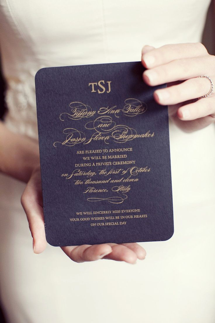Private Wedding Ceremony Invitation Elegant 25 Best Ideas About Wedding Announcement Wording On