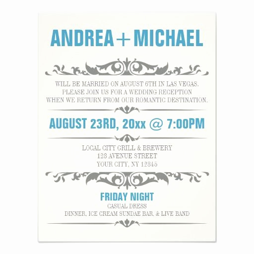 Private Wedding Ceremony Invitation Wording Awesome Best 25 Reception Only Invitations Ideas On Pinterest