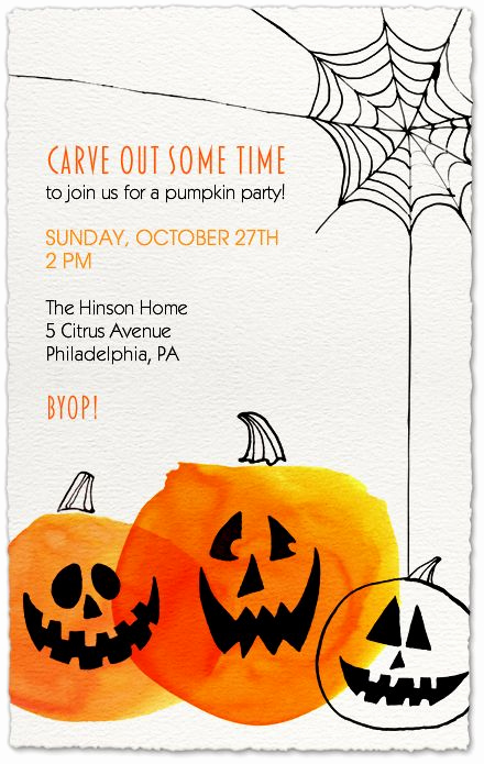 Pumpkin Carving Party Invitation Awesome Best 25 Pumpkin Invitation Ideas On Pinterest