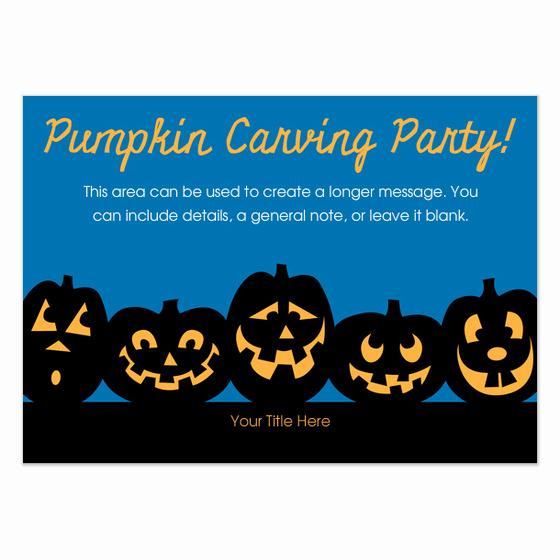 Pumpkin Carving Party Invitation Beautiful Pumpkin Carving Party Invitations & Cards On Pingg