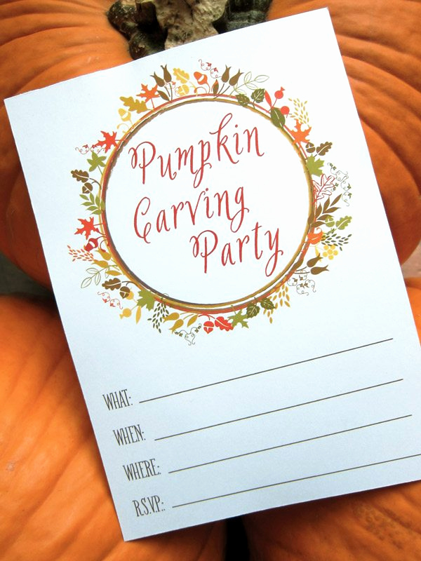 Pumpkin Carving Party Invitation Lovely Pumpkin Carving Party Printables the Sweetest Occasion