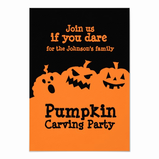 Pumpkin Carving Party Invitation Luxury Pumpkin Carving Party Invitation