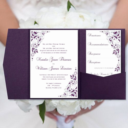 Purple Wedding Invitation Template Beautiful Beautiful Wedding and Helpful Hints On Pinterest