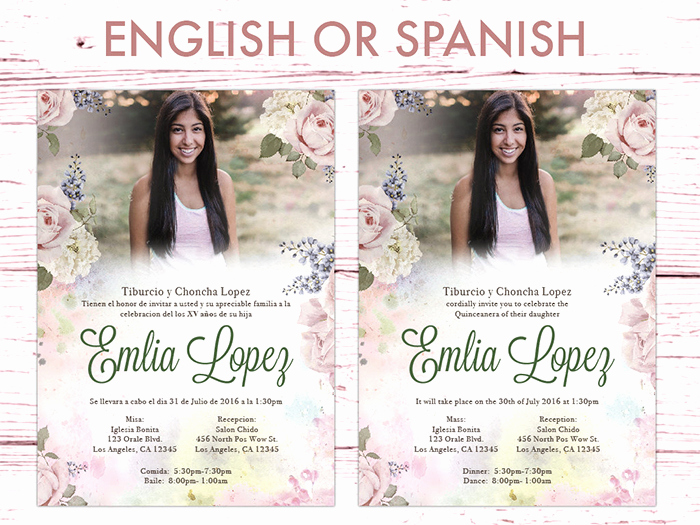 Quince Invitation Wording In English Best Of 35 Beautiful and Unique Quinceanera Invitations Templates