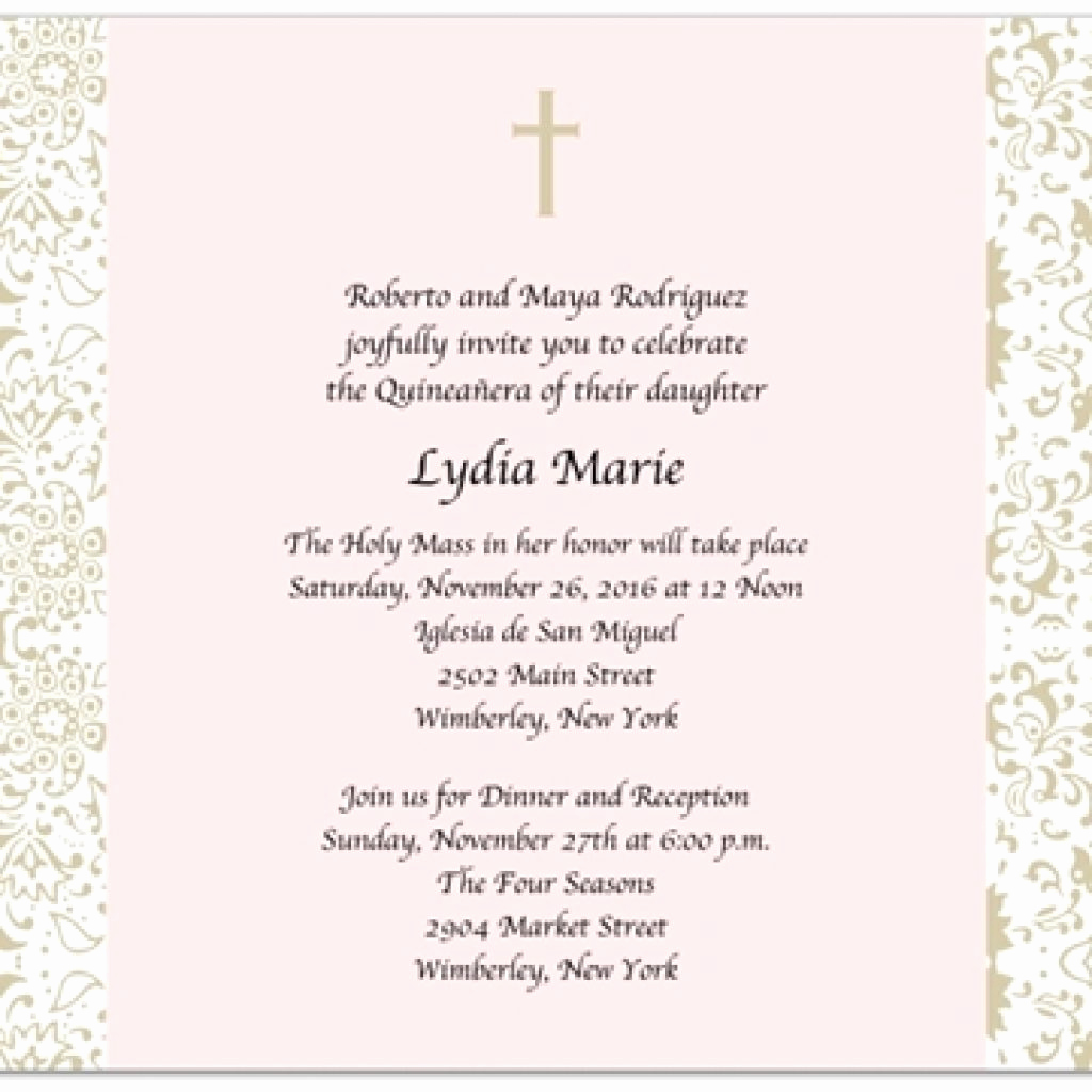 Quince Invitation Wording In English Best Of 46 Quinceanera Invitations Wording In English Quinceanera