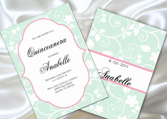 Quince Invitation Wording In English Lovely 17 Best Images About Quinceanera Invitations On Pinterest