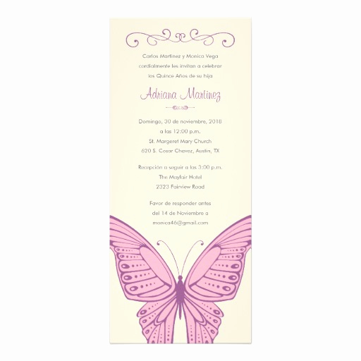 Quince Invitation Wording In English Luxury butterfly Quotes In Spanish Quotesgram