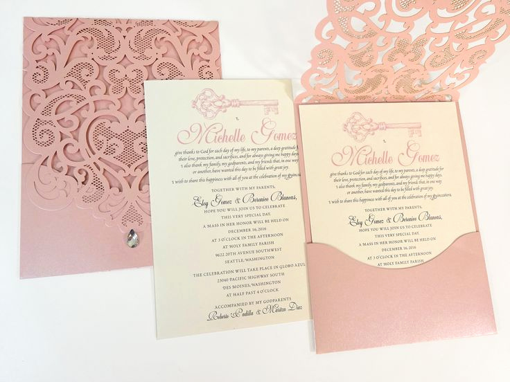 Quinceanera Invitation Ideas Pinterest Fresh 25 Best Ideas About Sweet 15 Invitations On Pinterest