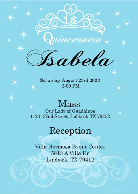 Quinceanera Invitation Templates In Spanish Best Of Quinceanera Enchanted Digital Invitation Spanish by