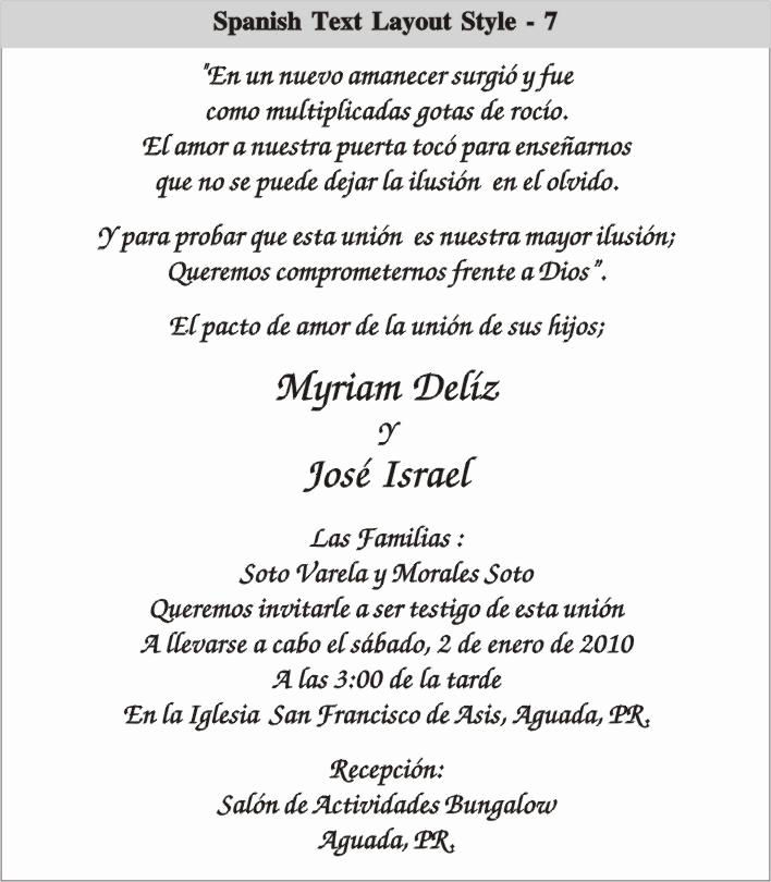 Quinceanera Invitation Templates In Spanish Unique Graduation Invitations Wording In Spanish