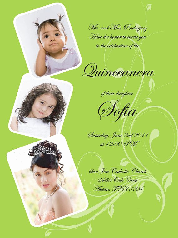 Quinceanera Invitation Wording In English New 17 Best Images About Quinceanera Invitations On Pinterest