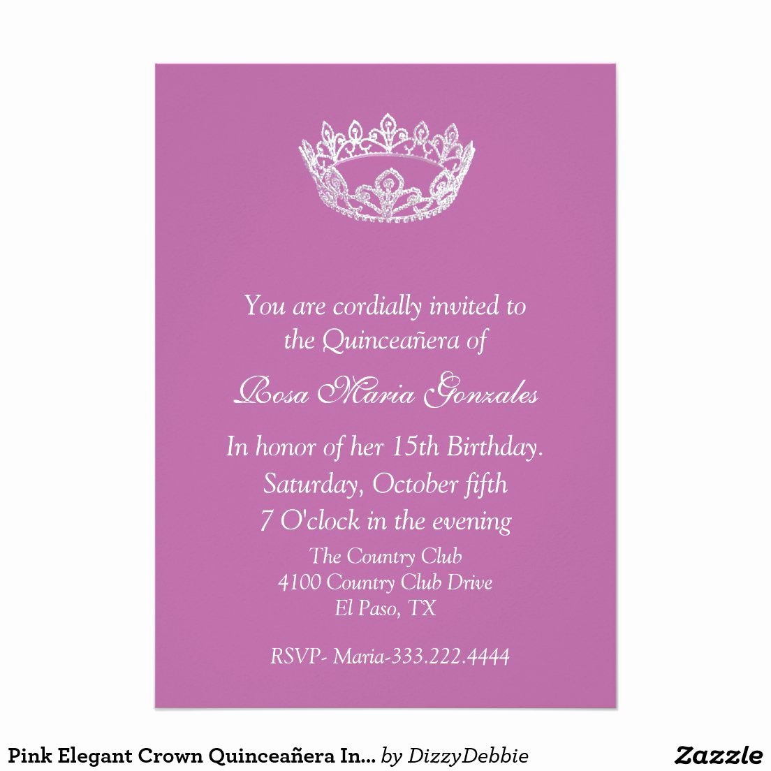 Quinceanera Invitation Wording In English New Spanish Birthday Invitation Wording