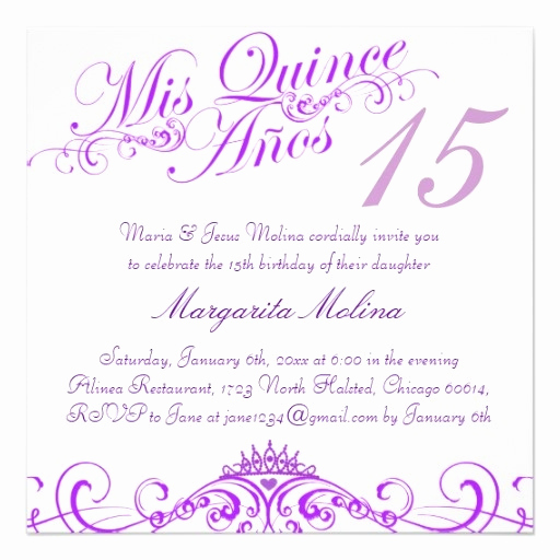 Quinceanera Invitation Wording Spanish Best Of 1000 Images About Quinceanera Invitation Ideas On
