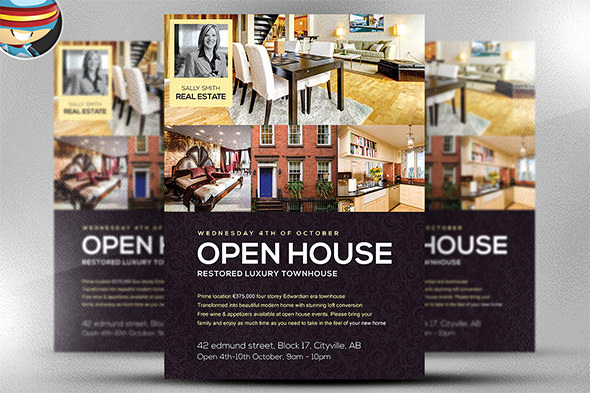 Real Estate Open House Invitation Awesome 42 Open House Flyer Templates Word Psd Ai Eps Vector